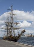 A city of sailing vessels
