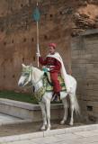 Royal guard, mausoleum of Mohammed V