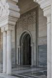 Mausoleum of Mohammed V, entry