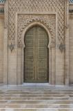 Mosque door, near the mausoleum