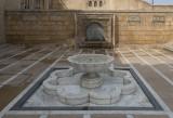 Mosque courtyard, near the mausoleum