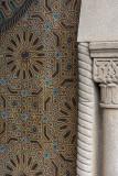The Kasbah, open door detail