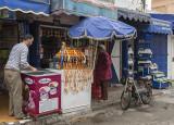 The Kasbah, orange juice vendor