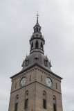 A real clock tower