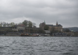 Akershus Slott from the ferry