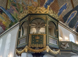 Oslo Cathedral, royal box
