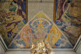 Oslo Cathedral, ceiling art