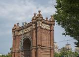 Parc de la Ciutadella, entry