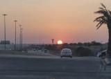 Sand-less sunset