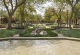 Enjoying the fountain, Al Yamamah Garden