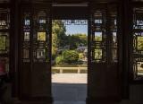 Lan Su Chinese Garden, main pavilion view