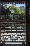 Lan Su Chinese Garden, shadows