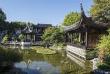 Lan Su Chinese Garden, pavilions