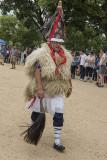 Basque performer