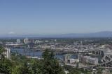 Portland Aerial Tram, Mount Adams