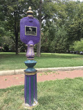 Memorial park in color