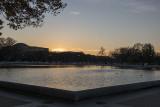 Reflecting Pool at sunset
