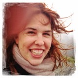 Danica looking quite Irish and happy!