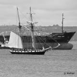 La Recouvrance sur tribord