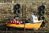 Roscoff - Le bateau jaune