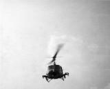 Gunship flying cover