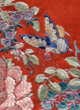 Detail of Womans Silk Robe, China, Qing Dynasty