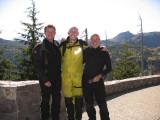 Biker trio