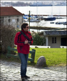 Pbaser Saulo Silva in Gamle Bergen (Old Bergen)..........