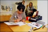 International calligraphy exhibit at Galleri Askøy.........