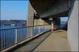 Under the bridge..........