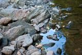 Wissahickon creek rocks