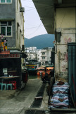 Through an alley in Tai O