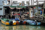 Boats at the Tai O River