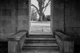 Entrance to the arboretum
