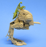 Praying Mantis on Star Wars Armored Walker