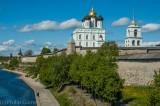 The 1699 Epiphany Cathedral rises out of the Kremlin (fortress)