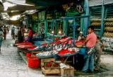 Street market in Beyazit, Istanbul