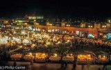 Djemaa El Fna by night, Marrakech