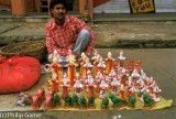 Figurines for the Gangaur festival