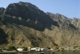 Isolated village, Khor Ash Sham, Musandam