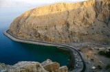 Cliffs near Khasab, Musandam