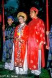 Annamese wedding reenacted, Saigon