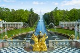 Gardens of the Peterhof or Petrodvorets