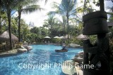 Swimming pool at the Sheraton Timika