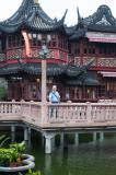 Self at the Yu Gardens teahouse
