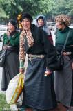Tibetan women, Chengdu