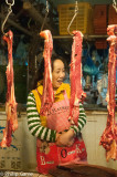 Butchery staff, Chengdu, China