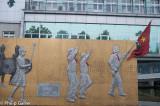 Heroic primary school mural