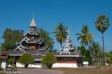 Wat Hua Wiang, Burmese in style