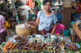 Food vendor, Pakse